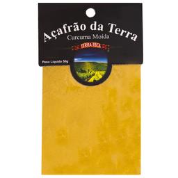 Açafrão Terra Rica Pacote 50g