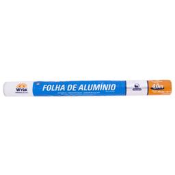 Papel Alumínio Wyda 45cm x 4m