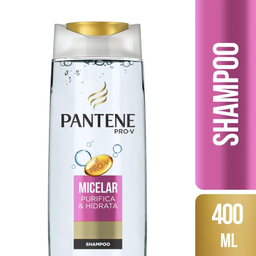 Shampoo Micelar Pantene 400ml
