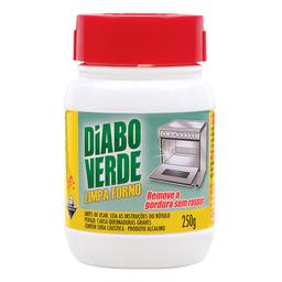 Limpa Forno Em Pasta Original Diabo Verde 250 g