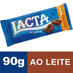 Chocolate LACTA ao Leite 90g