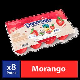 Iogurte Infantil Danoninho Petit Suisse Morango 320G