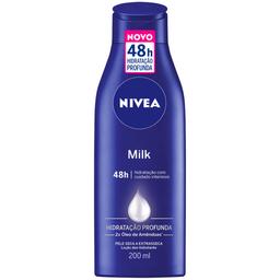 Hidratante Milk Nivea 200ml