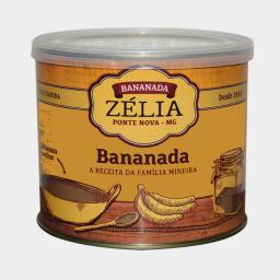 Bananada Cremosa Zélia 400g