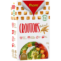 Croutons Natural Fhom 100g
