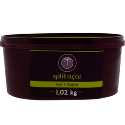 Açaí Split Natural 1,02kg