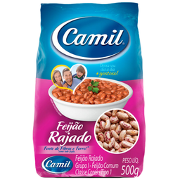 Feijão Rajado Camil 500g