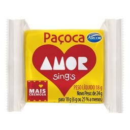 Arcor Pacoca Amor Com 30 Und