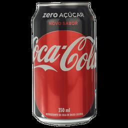Coca-Cola Zero Lata - 350ml