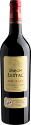 Vinho Tinto Baron De Lestac Bordeaux 2016 750 mL