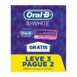 Oral-B Creme Dental 3D White Caixa Leve 3 Pague 2 Com Cada
