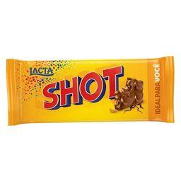 Barra De Chocolate Com Amendoim Shot 90G