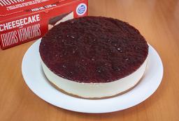 Torta Cheescake de Frutas Vermelhas