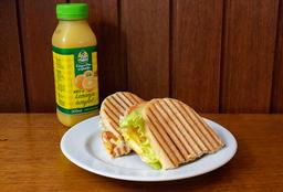 Sanduiche + Suco Integral 300ml Ou Refrigerante