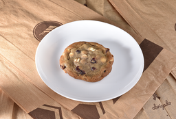 Cookie Cranberry Com Chocolate Branco