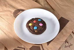 Cookie Chocolate Com M&Ms