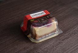 """""""Cheesecake"""" de Limão com Frutas Vermelhas"""