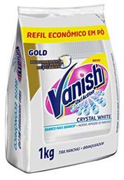 Tira Manchas Vanish White 1kg Alvejante sem cloro roupas brancas