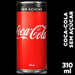 Refrigerante Coca-Cola Sem Açucar Lata 310mL