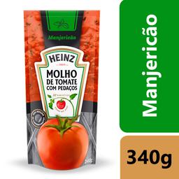 Molho de Tomate Heinz Manjericão Sachê 340g