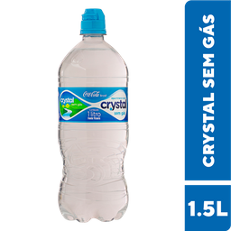 Água Mineral Sem Gás Crystal Pet 1L