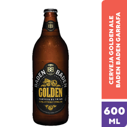 Cerveja Golden Baden Baden 600ml
