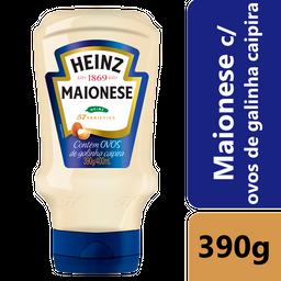 Maionese Heinz c/ Ovos de Galinha Caipira 390g