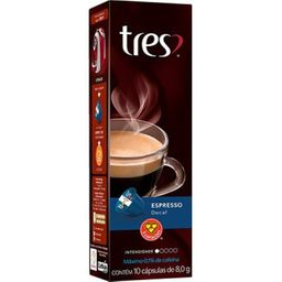 Cápsula Espresso Decaf 3 Coracoes Com 10