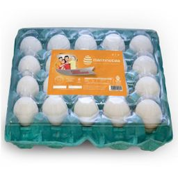 Ovos Extra Branco Pvc Mtq 20Un