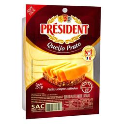 Queijo Prato Fatiado President 150g G