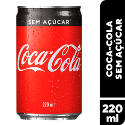 Refrigerante Coca Cola Zero Lt 220ml