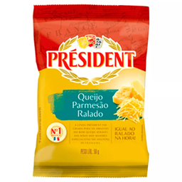 Queijo Parmesão Ralado President 50g