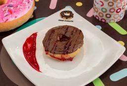 Donuts de Nutella com Morango