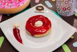 Donuts Geleia de Morango com Creme
