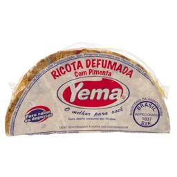 Queijo Ricota Defumada Com Pimenta Yema