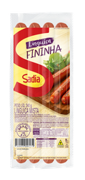 Linguiça Defumada Fininha Sadia 240g