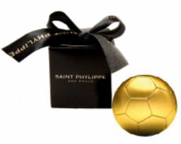 Cx C/ 5 Bolas De Futebol Choc Ao Leite St Phylippe
