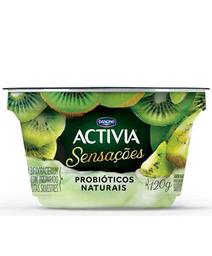 Iogurte Pedaços Kiwi Activia Danone 120g