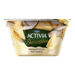 Iogurte Pedaços Abacaxi/Coco Activia Danone 120g