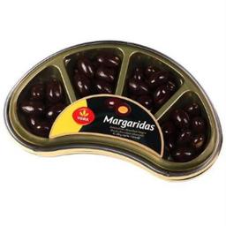 Amêndoas Cobertas Com Chocolate Meio Amargo Margarid