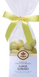 Amêndoas Cobertas Com Chocolate Branco E Limão Vieira 160g