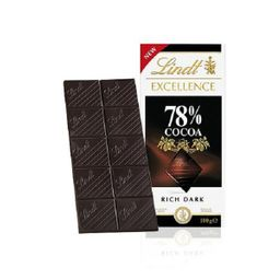Chocolate Francês Dark Excellence 78% Cocoa Lindt 100g