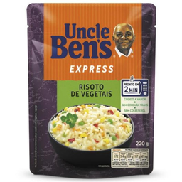 Risoto Vegetal Bistro Uncle Bens 220g