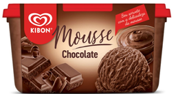 Sorvete Mousse Chocolate Kibon 1,5 L
