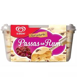 Sorvete Passas Ao Rum Kibon 1,5L