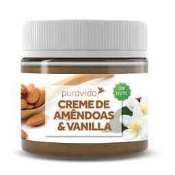 Creme De Amendoas E Vanilla Puravida 300G