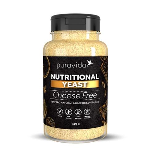 Nutritional Yeast Cheese Free Puravida 120G