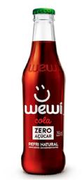Refri Cola Natural Zero Garrafa Wewi 255Ml