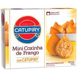 Mini Coxinha Recheada Com Catupiry 300g