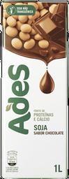 Bebida A Base De Soja Chocolate Ades 1L